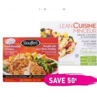 Lean Cuisine and Stouffer's Frozen Entrees