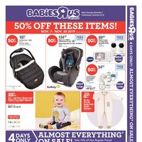 Babies R Us - 2 Weeks of Savings Flyer