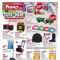 PeaveyMart - Toys Are Here! Flyer