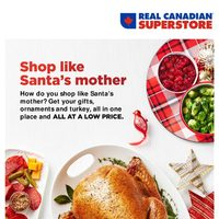 - Holiday Guide - Shop Like Santa's Mother Flyer