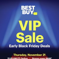 Best Buy - V.I.P. Sale - Early Black Friday Deals Flyer