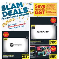 - Slam Deals - Black Friday Sale Flyer