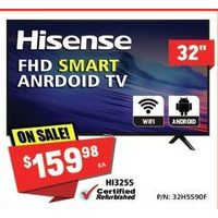 Hisense FHD Smart Android TV 32""