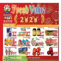 Fresh Value - Weekly Specials Flyer