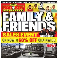 - Family & Friends Sales Event Flyer