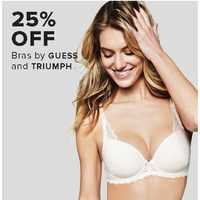 Guess And Triumph Bras