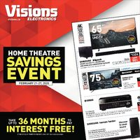 - Weekly - Home Theatre Savings Event Flyer