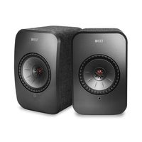 KEF 3 Speed Fully Manual Direct Drive Turntable And LSX Wireless HD Stereo Speaker System