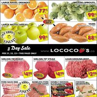 Lococos - 2 Weeks of Savings Flyer