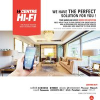 Centre HIFI - We Have The Perfect Solution For You! Flyer