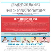Jean Coutu - Historical Edition Flyer
