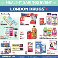 London Drugs - Healthy Savings Event Flyer