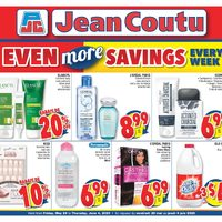 Jean Coutu - Even More Savings Flyer