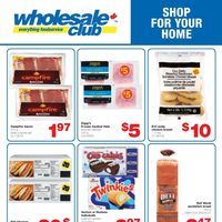 Wholesale Club - Shop For Your Home & Produce Deal of The Week Flyer