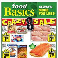 Foodbasics - Weekly - Crazy 8 Sale Flyer