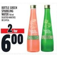 Bottle Green Sparkling Water