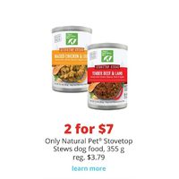 Only Natural Pet Stovetop Stews Dog Food