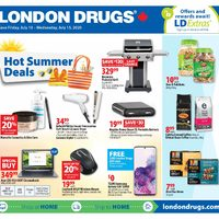 London Drugs - 6 Days of Savings - Hot Summer Deals Flyer