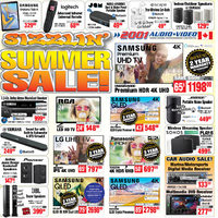 2001 Audio Video - Weekly - Sizzlin' Summer Sale! Flyer