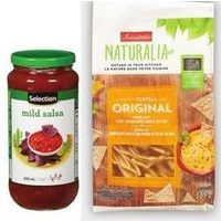 Irresistibles Naturalia Tortilla Chips, Selection Salsa