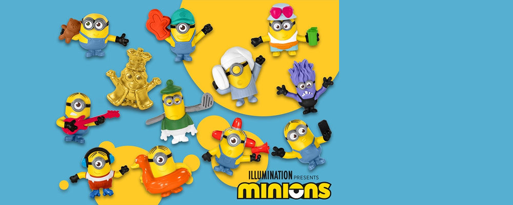 A Huge New Set of Minions Happy Meal Toys Have Arrived at McDonald's Canada
