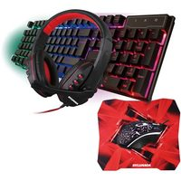 Sylvania PC Gaming Combo Mouse/Keyboard/ Headset/Mousepad