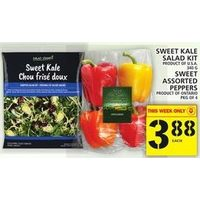 Sweet Lake Salad Kit, Sweet Peppers