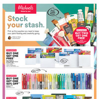Michaels - Weekly - Stock Your Stash Flyer