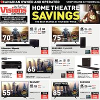 - Home Theatre Savings Flyer