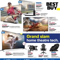 Best Buy - Weekly - Grand Slam Home Theatre Tech Flyer