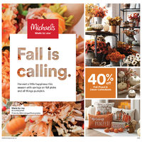 Michaels - Weekly - Fall is Calling Flyer