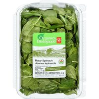 PC Organics Baby Spinach Or Field Greens