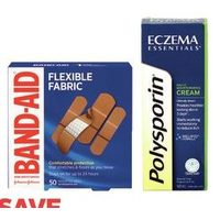 Band-Aid Bandages or Polysporin Products