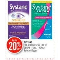 Systane Eye Wipes, Gel Or Drops
