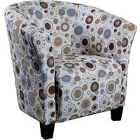 Accent Fabric Tub Chair