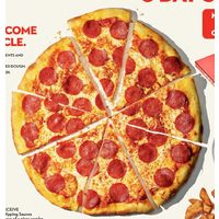 "Longo's 16"" Hot Pizza Pepperoni or Doubled Cheese Plus Chicken Wings or Chicken Tenders"