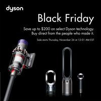 Dyson - Black Friday Deals Flyer