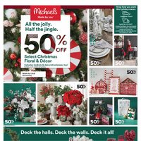 Michaels - Weekly - All The Jolly Flyer
