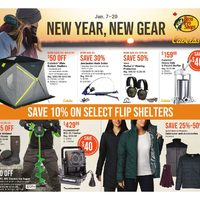 Cabelas - New Year, New Gear Flyer