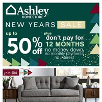 Ashley HomeStore - New Years Sale Flyer