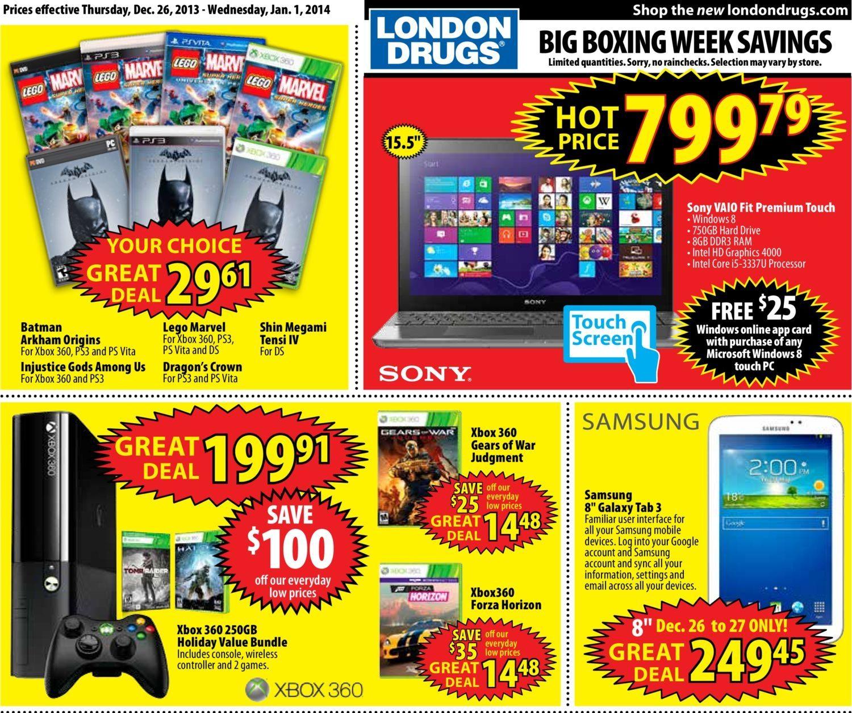 London Drugs Weekly Flyer - High-Tech - Boxing Week Savings