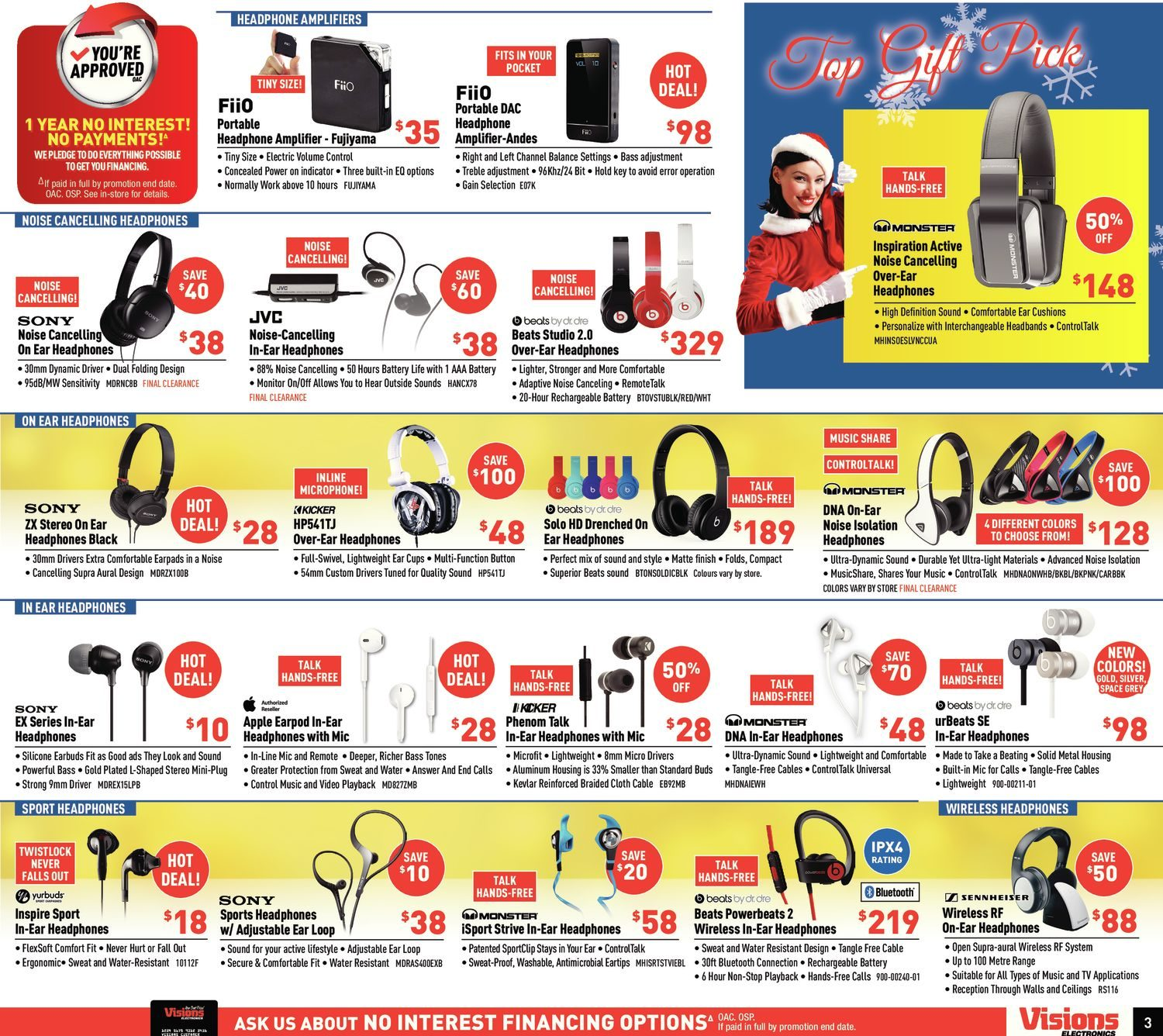 Visions Electronics Weekly Flyer Christmas Gift Guide Nov 6 12 Expensive Upgrade Is Kenwood Kdc 148 Wire Diagram United Kingdom The