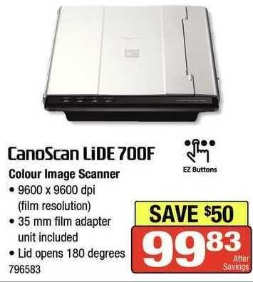 canon lide 700f scanner