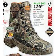 4fd33865413 Bass Pro Shops: Wolverine King Caribou IV Insulated GORE-TEX Hunting ...