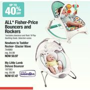 All Fisher-Price Bouncers and Rockers - Up to 40% off