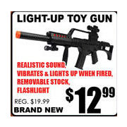 Light-Up Toy Gun - $12.99