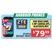 Android Phones XTE ZP33 - $79.99