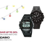 Casio Watches - Up to 30% off