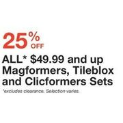Toys R Us: All $49 99 and Up Magformers, Tileblox, and