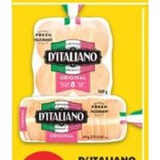 D'Italiano Bread or Buns  - $1.97